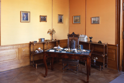 The study-room of prince Franz