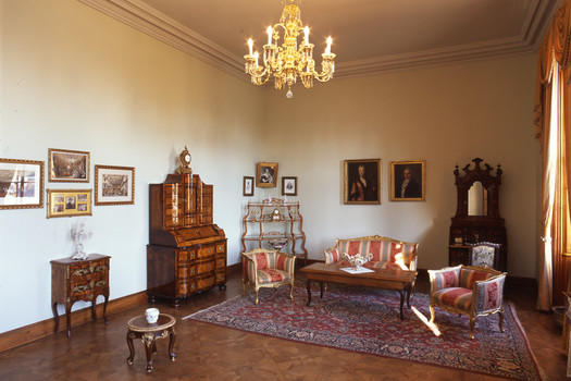 The study-room of the princess